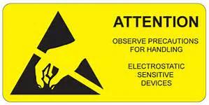 esd warning